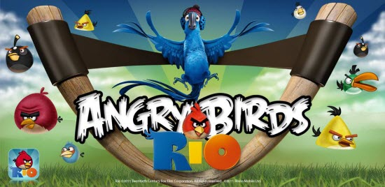 Angry Birds Rio Available Free for Android