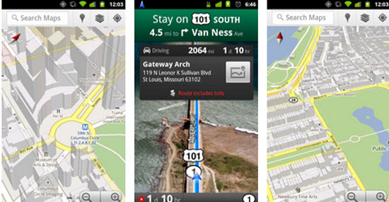 Google Map for Android