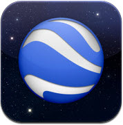 Google Earth for Android, iPhone, iPod touch, and iPad