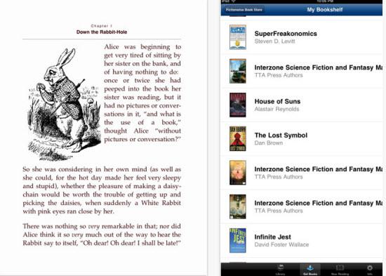 Stanza eBook Reader for iPad