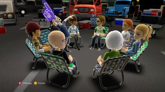 Xbox Kinect Avtar
