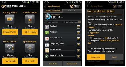 Norton Mobile Utilities Lite