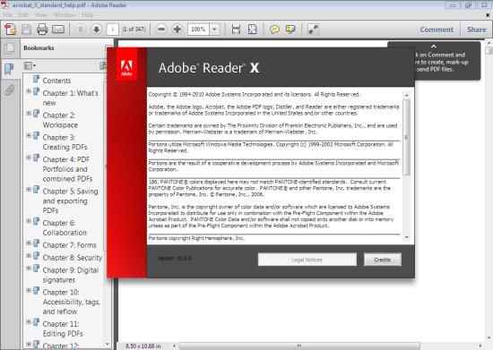 Adobe Pdf Reader X 10.1.1 Standalone Offline Installer