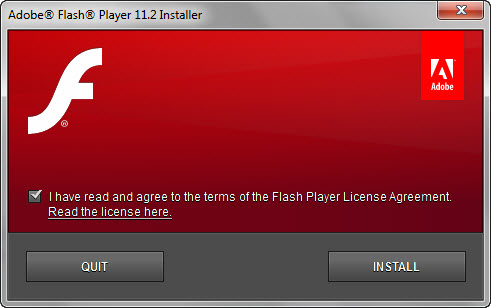 Adobe Flash Player 11.2 Offline Installer
