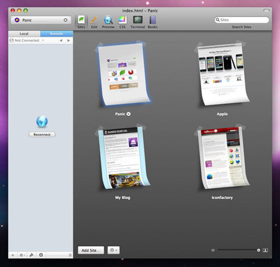 HTML Editors for Mac