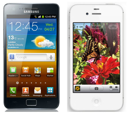 Will iPhone 4S Beat Samsung Galaxy S II?