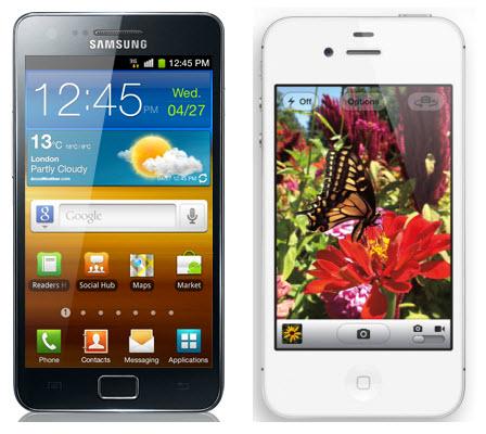 Will iPhone 4S Beat Samsung Galaxy S II?