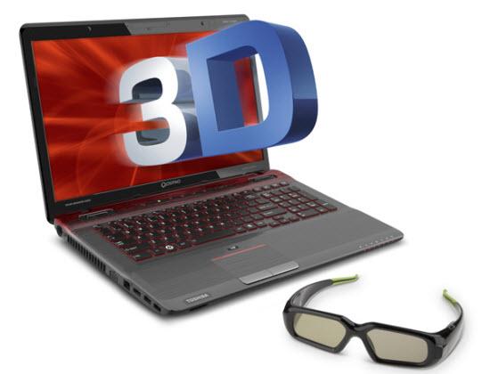 Toshiba Qosmio X775-3DV78 3D Gaming Laptop