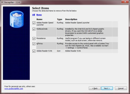 Clean Your Desktop Using PC Decrapifier