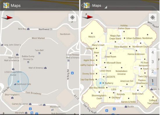 Google Indoor Map