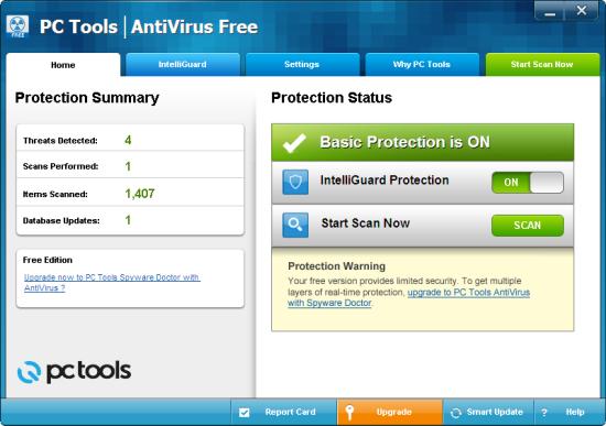 Download PC Tools AntiVirus Free