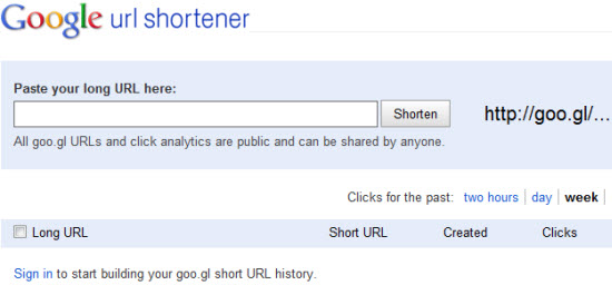 URL Shortner