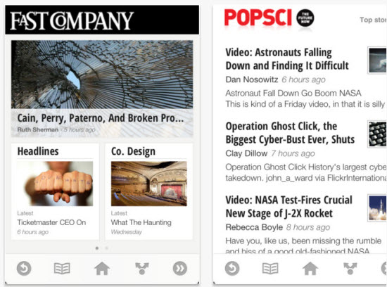 Google Introduced News Reading App Google Currents