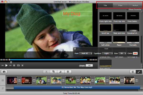 Giveaway Video Editor Software Wondershare Vivideo for Windows & Mac