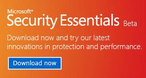 New Version of Microsoft Security Essentials Beta Released