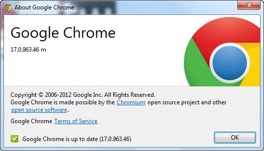 Google Chrome 17 Offline Installer
