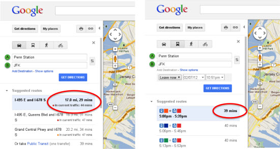 Track Real Time Traffic with Google Maps Live Traffic