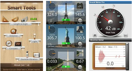 Smart Tools – The Complete Measuring Mobile Toolkit