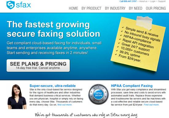 Sfax – An Online Fax Service