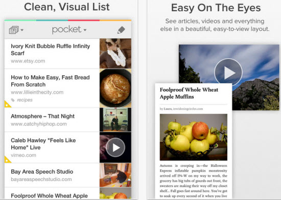 Save For Later Reading With Pocket App