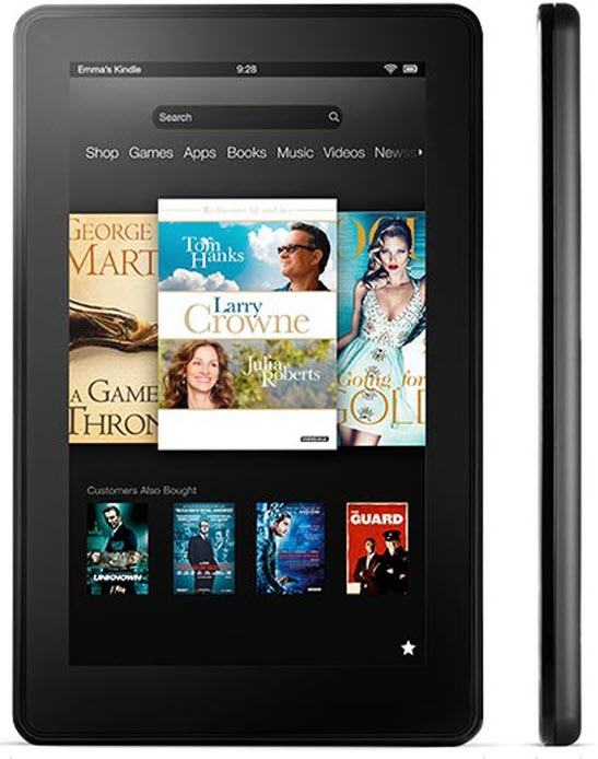New Amazon Kindle Fire Series 7, 8.9-inch HD with 4G LTE
