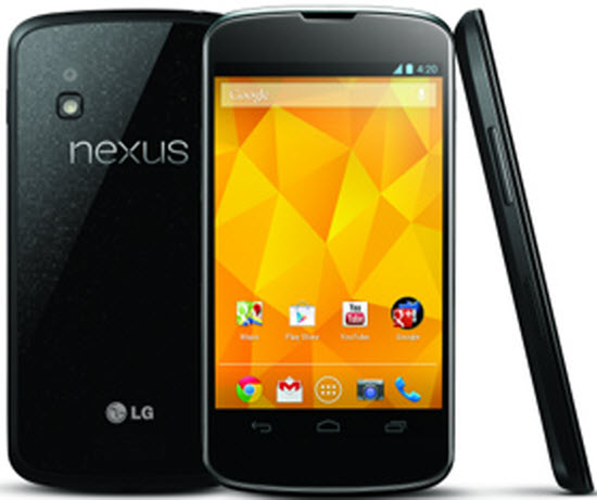 Google with a Trio series of Nexus; Nexus 10, Nexus 4, Nexus 7
