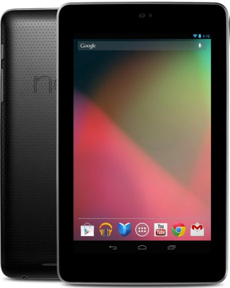 Google with a Trio series of Nexus; Nexus 10, Nexus 4, Nexus 7
