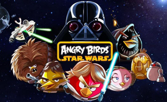 Angry Birds Star War New World of Angry Bird