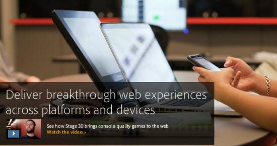adobe flash player 3d games download