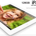 Apple Launched 128GB iPad 4