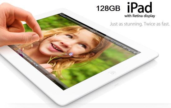 128GB iPad 4